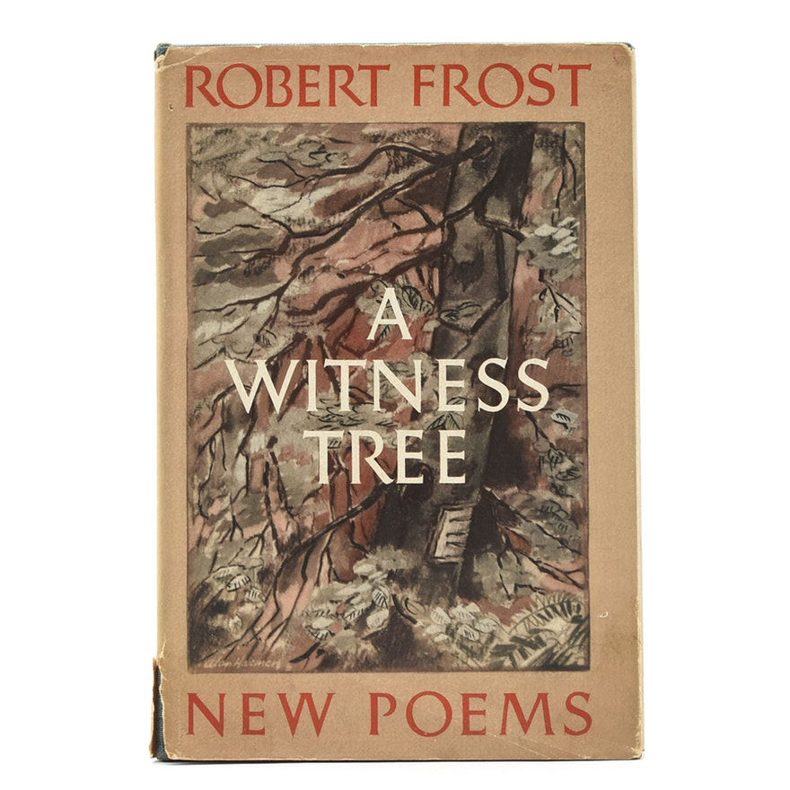Book cover: Robert Frost poems